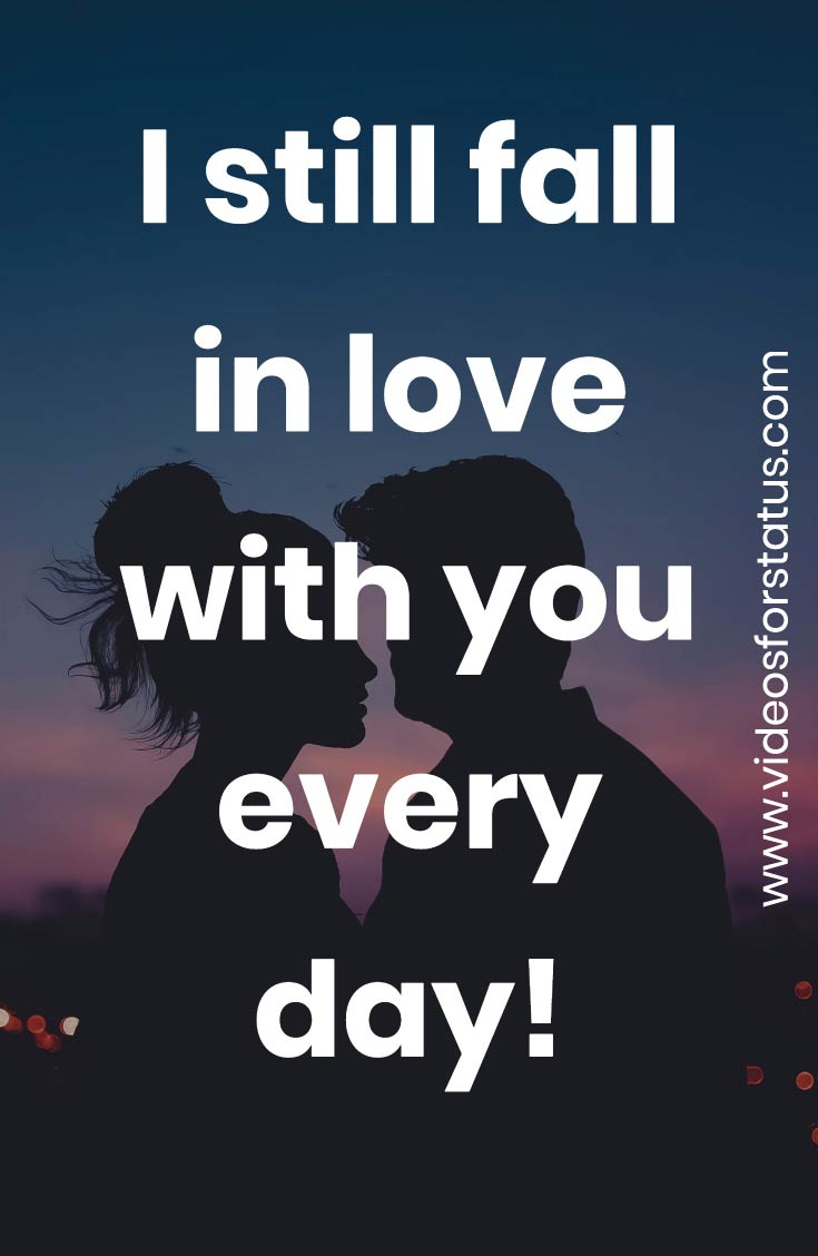 Love Romantic Status for Girlfriend quotes whatsapp download